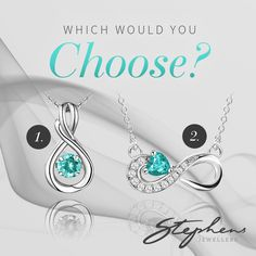 Aquamarine is the birthstone of March and gives an exciting pop of colour. Which pendant you like better? ome in store or shop these styles online at http://www.stephensjewellers.com.au/brand/stephens?category=&stone_type=&metal_type=&search_query=&gender=&promotion= #Stephensjewellers #Jewellery #Gold #Rings #Aquamarine http://www.stephensjewellers.com.au/