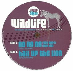 "The Wildlife Collective - No No No (You Don't Love Me) / Hail Up The Lion 12"" JC002 Jungle Cakes"