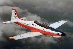 O primeiro voo do Embraer Tucano aconteceu em 19 de agosto de 1980 (Foto - Acervo Centro Histórico Embraer)