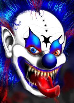 scarey clown photos   Scary Clowns