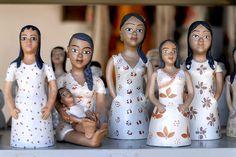 Arte mineira em cerâmica