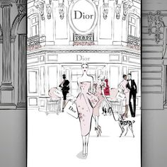 And...... part 2 of my animation for FASHION DOORS! You can see the full animation on the VIDEO page of my website: MEGANHESS.COM