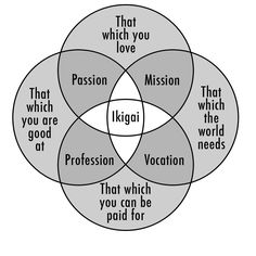 Discovering your Ikigai