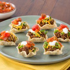 Taco Night in One Bite #InspireTheSeason