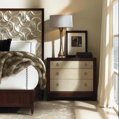 Glam More Small Dresser - Caracole Caracole Furniture, Bedroom Furniture, Home Furniture, Bedroom Decor, Master Bedroom, Small Dresser, Dresser As Nightstand, Bedside, Beautiful Bedrooms