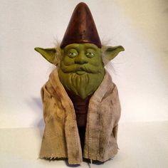 Nain de jardin Yoda