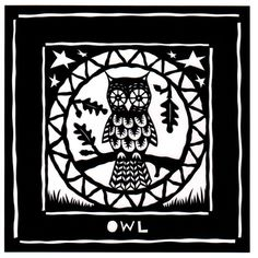 'Papercut Owl' by Suzy Taylor