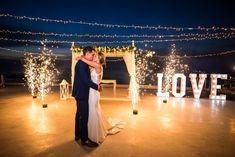Illuminography – Adored Santorini | Lighting in Santorini Wedding First Dance, Wedding Dj, Budget Wedding, Wedding Vendors, Summer Wedding, Wedding Events, Wedding Planner, Destination Wedding, Santorini Gem