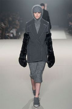 New York Fall 2013 Trend Report. Harper's BAZAAR.  Gray was seen all over the fall 2013 runways this year. From charcoal to slate, gray is being considered the new neutral and will be seen in fashion much more frequently this season. Alexa T.