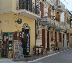 Ancient Town  PYRGI - Chios  Lots of souvenirs and mastic products..