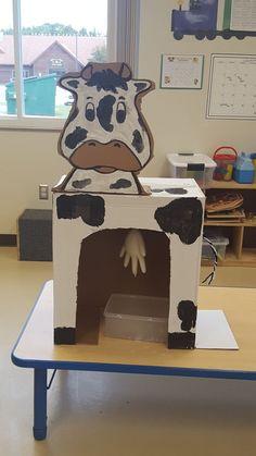 Milking the cow preschool activity preschool lessons, preschool themes, farm animals preschool, farm Farm Animals Preschool, Farm Animal Crafts, Preschool Crafts, Preschool Farm Crafts, Farm Theme Crafts, Free Preschool, Farm Activities, Animal Activities, Preschool Activities