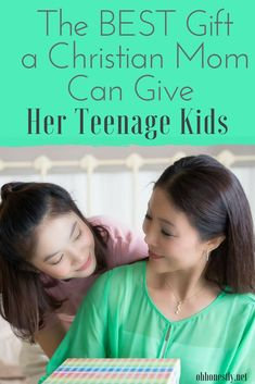 Want to give your teen a gift she'll cherish forever? If you're a Christian mom, this is the best gift idea for your kids that I've ever come across. It would make a great birthday, Christmas, Easter, or graduation present.