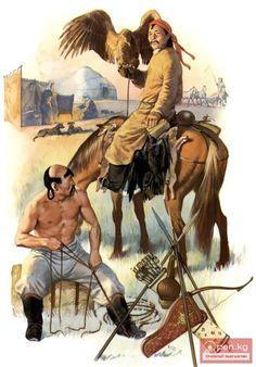 Mongol warriors