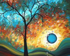 Aqua Burn Giclee Print by Megan Aroon Duncanson - For Isak Action Painting, Canvas Art, Canvas Prints, Art Prints, Painting Canvas, Framed Canvas, Canvas Size, Arte Pop, Sale Poster