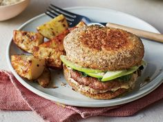 English muffins and sausage are a natural breakfast pair with a fried egg, but they also translate beautifully into a quick supper. The c...