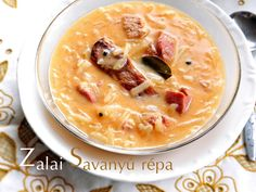 Szellem a fazékban: Zalai savanyú répa Cheeseburger Chowder, Hummus, Ethnic Recipes, Food, Essen, Yemek, Meals