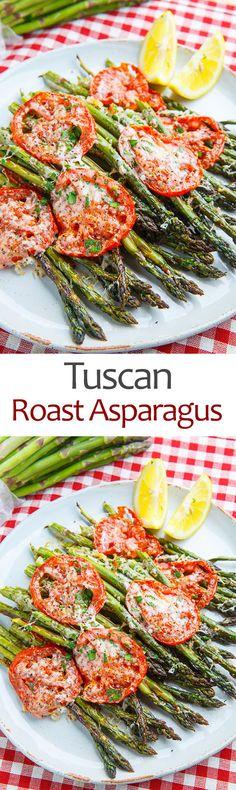 Tuscan Roast Asparagus                                                                                                                                                                                 More