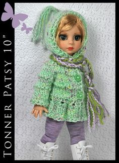 "OOAK Outfit Fashion for Tonner Patsy Ann Estelle 10"" by Maggie and Kate Create"