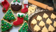 Gingerbread Cookies, Christmas Cookies, Christmas Diy, 12 Days Of Xmas, Food To Make, Biscuits, Food And Drink, Cooking, Desserts