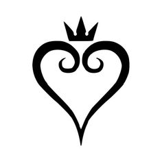 Kingdom Hearts Heart Vinyl Decal Sticker  BallzBeatz . com