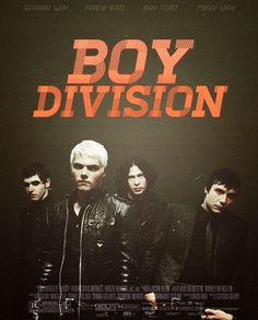 Boy Division MCR Postet