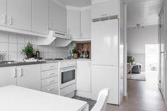 La cocina - Un piso de 45 m2 sencillo y práctico