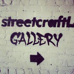 Spray sign! At #streetcraftla