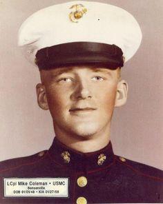 Virtual Vietnam Veterans Wall of Faces | MICHAEL J COLEMAN | MARINE CORPS