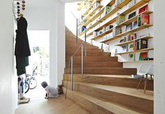How is a 921-square-foot, 44-level house possible?  Witness Tokyo architect Akihisa Hirata's   mind-bending, shape-shifting solution  to small-space living.