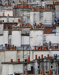 Paris rooftops, Michael Wolf