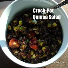 Crock-Pot Quinoa Salad