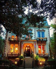 Hamilton - Turner Inn  Deanna's favorite bed & breakfast in beautiful Savannah