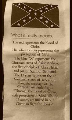It's not racist.