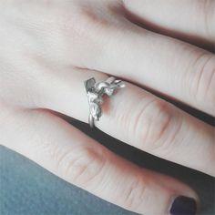 Angel of Love Cupid Ring Silver #angelring #angeljewelry #cupid #romanticring #greekring #cupidjewelry #cupidring #greekjewelry #silverlovegift #anniversarysilvergift #anniversaryring #anniversarysilverring