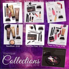All new Younique collections www.youniqueproducts.com/angelicamedeiros