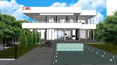 Modern House Planed for life - 3D Warehouse