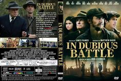 Base Capas 1: In Dubious Battle (2017) R0 - Cover & Label DVD Mo...