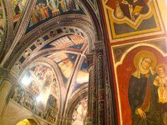 La meraviglia degli affreschi presenti nella Basilica di Santa Caterina d'Alessandria a Galatina (provincia di Lecce). In …