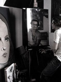 Johnny Depp, by Annie Leibovitz                              …
