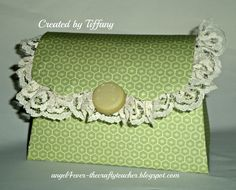 3D Purse made from the Artiste cartridge from Close to My Heart  tiffanys.ctmh.com