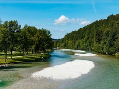 Isar in Bad Tolz by MacBen  water river germany waterfall bayern munich deutschland bavaria isar Isar in Bad Tolz MacBen