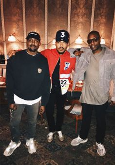 Kanye West, Chance the Rapper and Dave Chapelle Pop Fashion, Fashion News, Fashion Models, Fashion Design, Chance The Rapper, Travis Scott Outfits, Editorial Photography, Fashion Photography, Photography Magazine