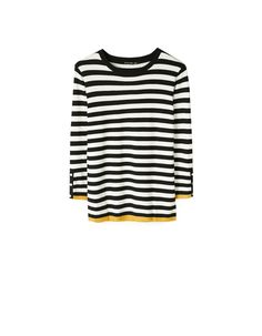 At Stradivarius you'll find 1 Striped fitted sweater for just 15.99 Greek . Visit now to discover this and more null.