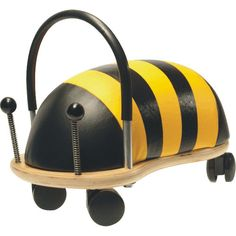 Wheely Bug Wooden Ride-on - Large Bumble Bee | Toys R Us