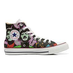 Converse All Star personalisierte Schuhe (Handwerk Produkt) Beatles - http://on-line-kaufen.de/make-your-shoes/converse-all-star-personalisierte-schuhe-5