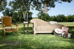 Gold Dust Vintage Rentals with Peyronet Photography at Howell Family Farms