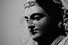 Boddhisatva Maitreya, Ancient Gandhara, 3rd - 4th century CE. Gandhara was an important centre of early Buddhism especially during the Kushan Empire. First translations of Buddhist sacred texts to Chinese originated there. Gandhara was conquered by Alexander the Great and its art is strongly influenced by Hellenistic culture.