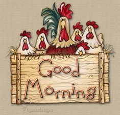 The perfect GoodMorning Chicken Greetings Animated GIF for your conversation. Discover and Share the best GIFs on Tenor. Cute Good Morning Quotes, Good Morning Sunshine, Good Morning Good Night, Good Morning Wishes, Good Night Quotes, Good Night Greetings, Morning Greetings Quotes, Morning Pictures, Good Morning Images