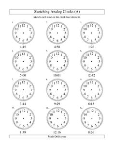 ... about Telling Time on Pinterest | Clock, Telling Time and Worksheets