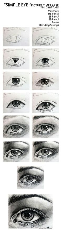 Step by step eye tutorial